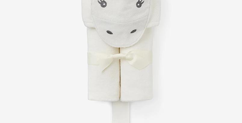 Unicorn Hooded Baby Bath Wrap