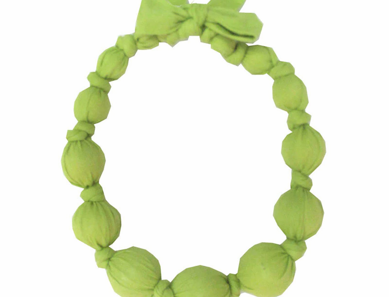 Citron Wooden Necklace
