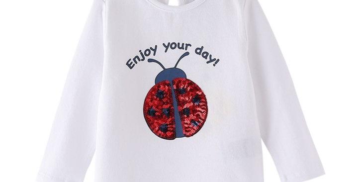 Sparkly Lady Bug Shirt