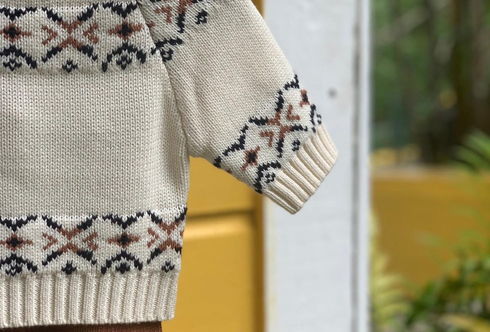 Holidays knitted set