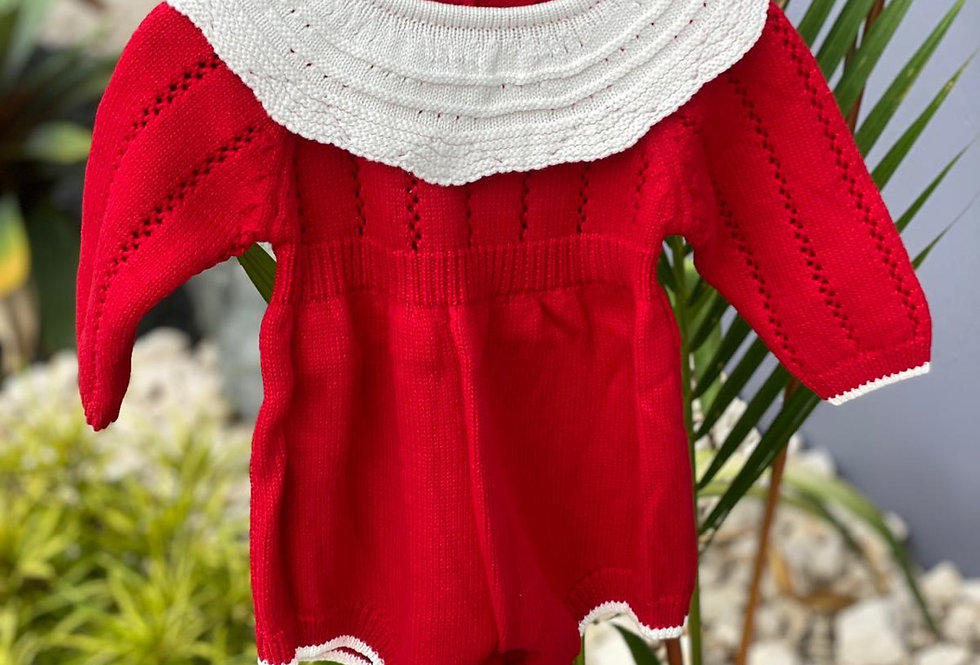 Mrs. Claus Knitted Sweater