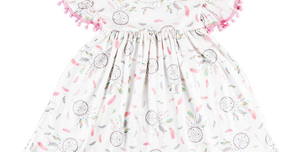 Dream Catcher Pom Pom Dress