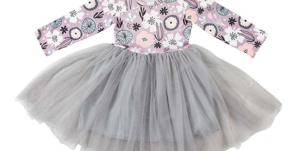 Wisteria Floral Tutu Dress