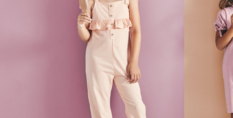 Funny and Sunny Jumpsuit