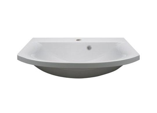 Art 600 Semi-Recessed Basin