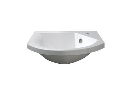 Art 400 Semi-Recessed Basin (Slimline)