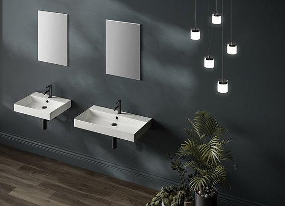 Aeon/Vantage Ceramic Wall Mounted Sink