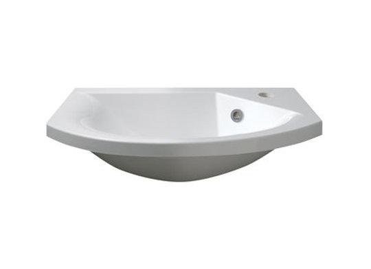 Art 600 Semi-Recessed Basin (Slimline)