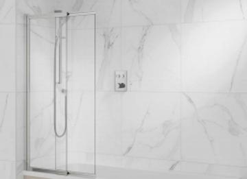 Lune- Slide & Pivot Bath Screen