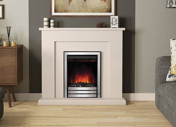 """42"""" Marden Electric Fireplace in Cashmere Painted Finish"""
