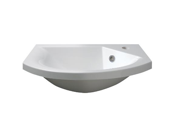 Art 500 Semi-Recessed Basin (Slimline)
