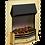 Thumbnail: Dumfries Brass Optiflame 3D Electric Inset Fire