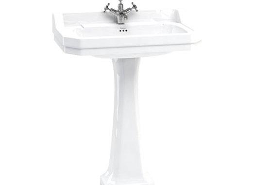Edwardian 80cm Basin with Classic Pedestal