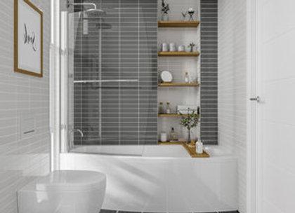 Scudo Space Saver Shower Bath