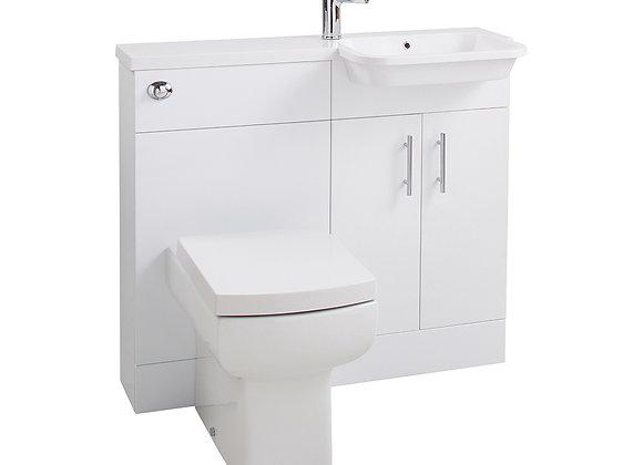 Cassellie Ria Combi R/H Basin & WC Unit