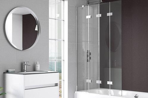 Inspire Four Panel In-Fold Bath Screen