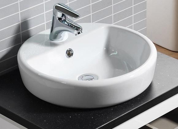 Caspia 440 Round Ceramic Vanity Basin