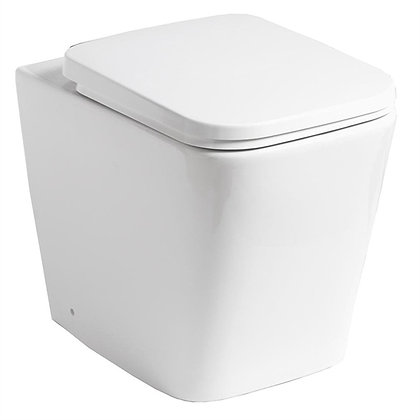 Qualitex - Monza Rimless Back to Wall Pan