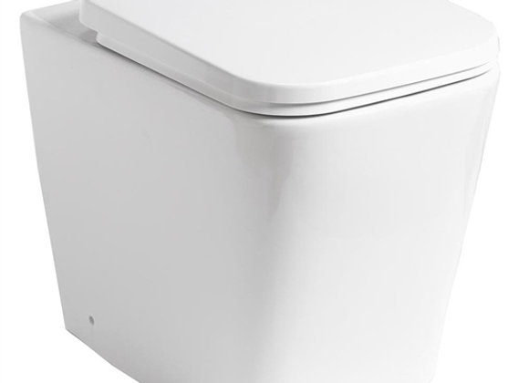 Monza Rimless Back to Wall Pan