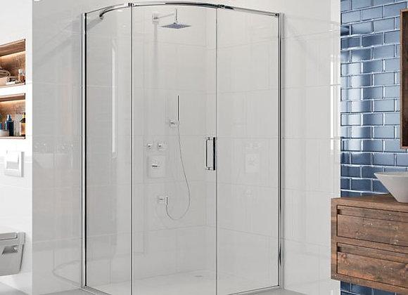 ARYSTO EIGHT 1 Door Quadrant Shower Door