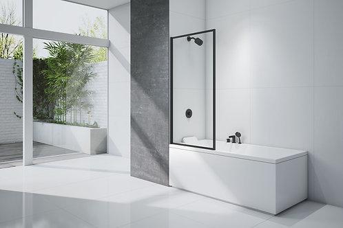 Black Framed Bath Screen