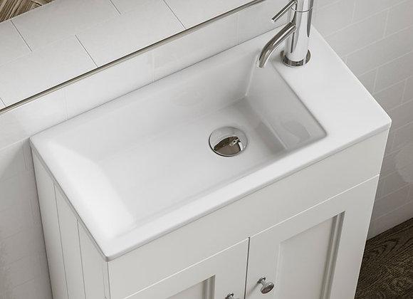Kingsbury Compact Cloakroom Sink - 50mm
