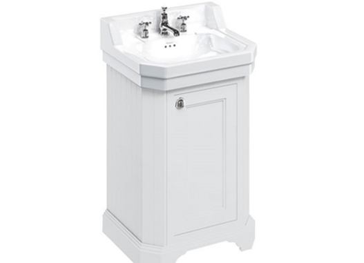 Edwardian 560mm Basin & Freestanding Rectangular Cloakroom Vanity Unit