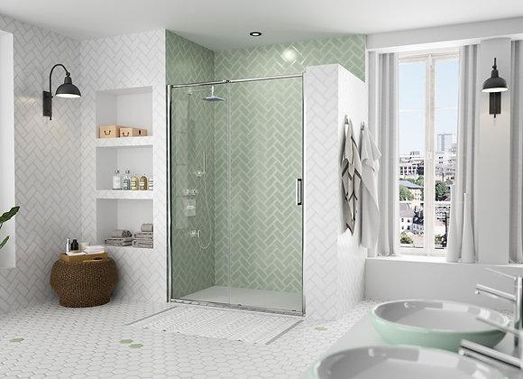 ARYSTO EIGHT Sliding Shower Door in Recess