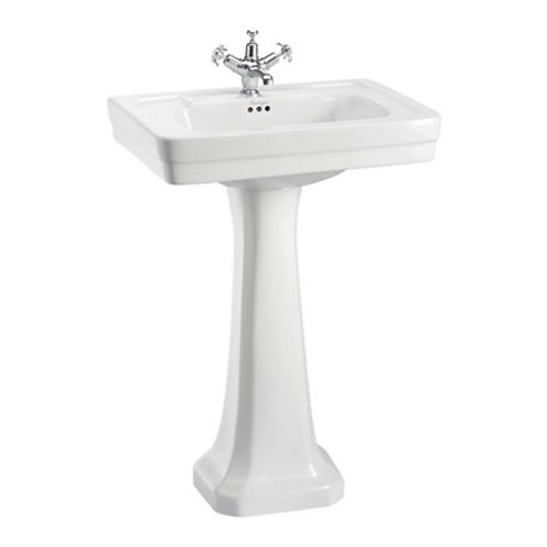 Contemporary Basin & Standard Pedestal