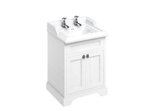 Freestanding 65 Unit with Doors and Classic Basin