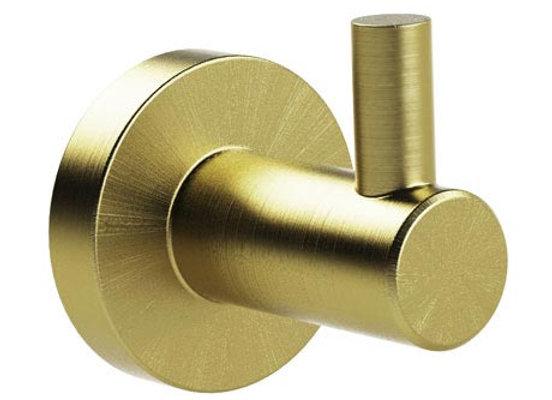 Bond Brushed Brass Single Hook