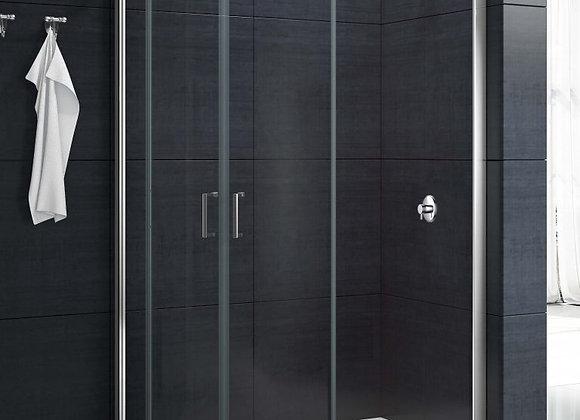 MBOX 2 Door Offset Quadrant Shower Enclosure