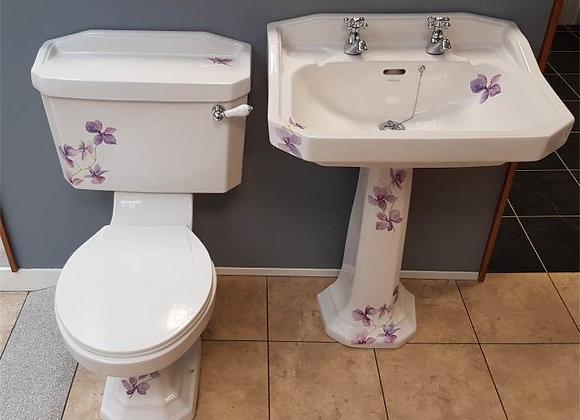Heritage Orchid Bathroom Suite