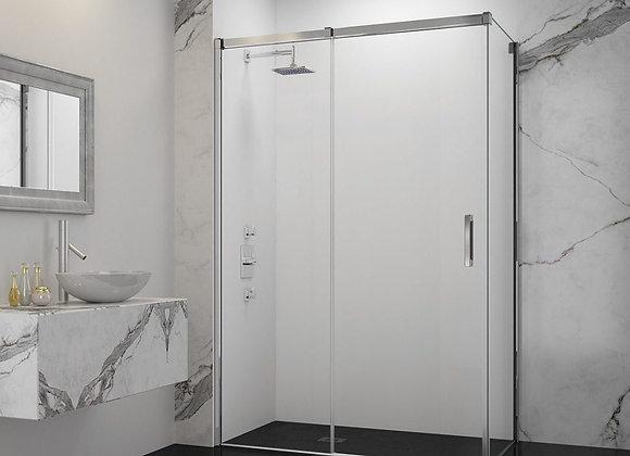 ARYSTO TEN 2 Panel Sliding Door with Side Panel