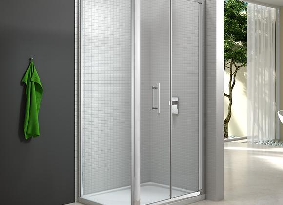 6 Series Bifold Door with Side Panel