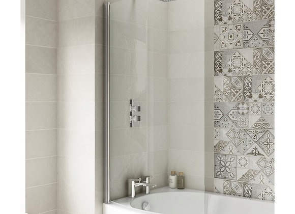 Nuie Pacific Curved B & P Bath Screen