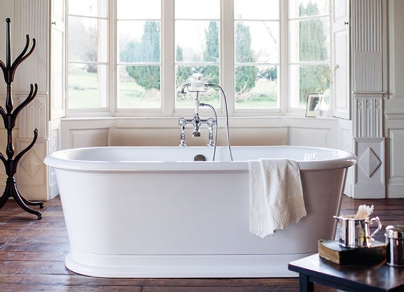 London Round Double Ended Bath