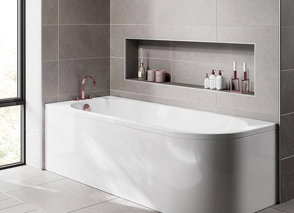 Scudo J Shape Shower Bath