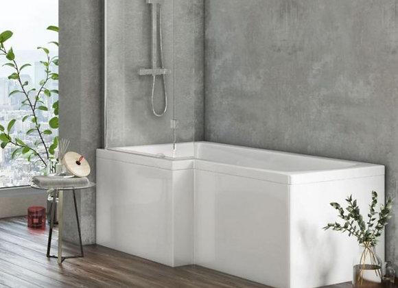 Scudo L Shape Shower Bath