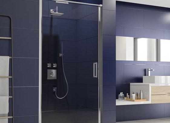 ARYSTO EIGHT Infold Shower Door in Recess