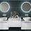 Thumbnail: Konnex Round LED Mirror