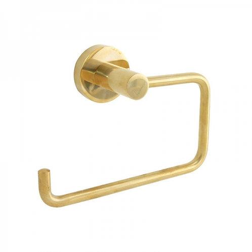 Bond Polished Brass Toilet Roll Holder