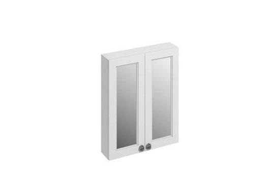 60 Double Door Mirror Wall Unit