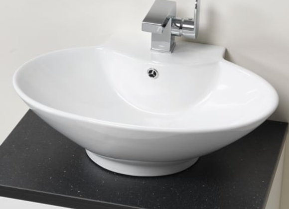 Oregon 570 Ceramic Vanity Basin