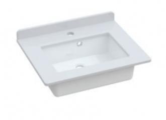Kingsbury - Washbasin with Quartz Worktop & Upstand
