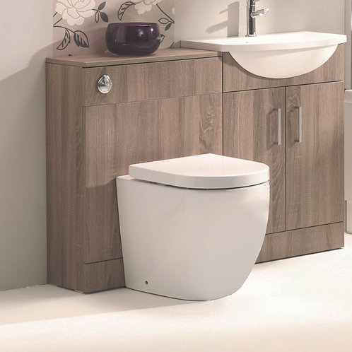 Opal Rimless Back to Wall Pan