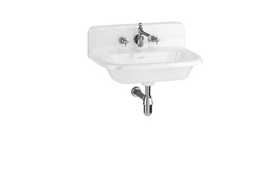 Medium Roll Top Basin with Up-stand