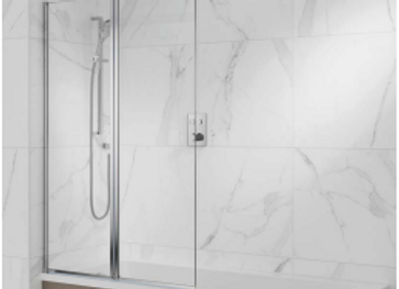 Lambro - Equal Twin Pivot Bath Screen