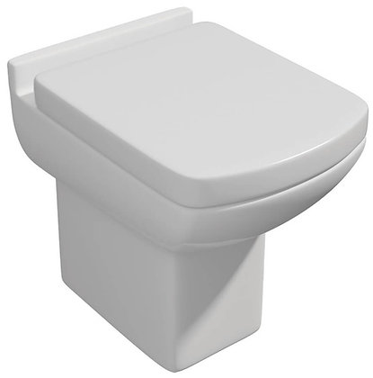 Qualitex - Eden Back to Wall Pan Only