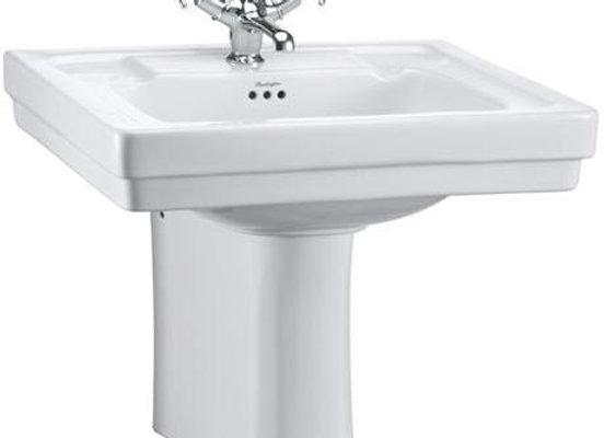 Contemporary Basin & Semi Pedestal